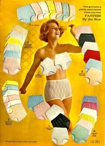vintage panty ad