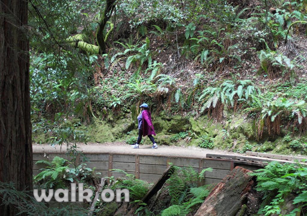walk on